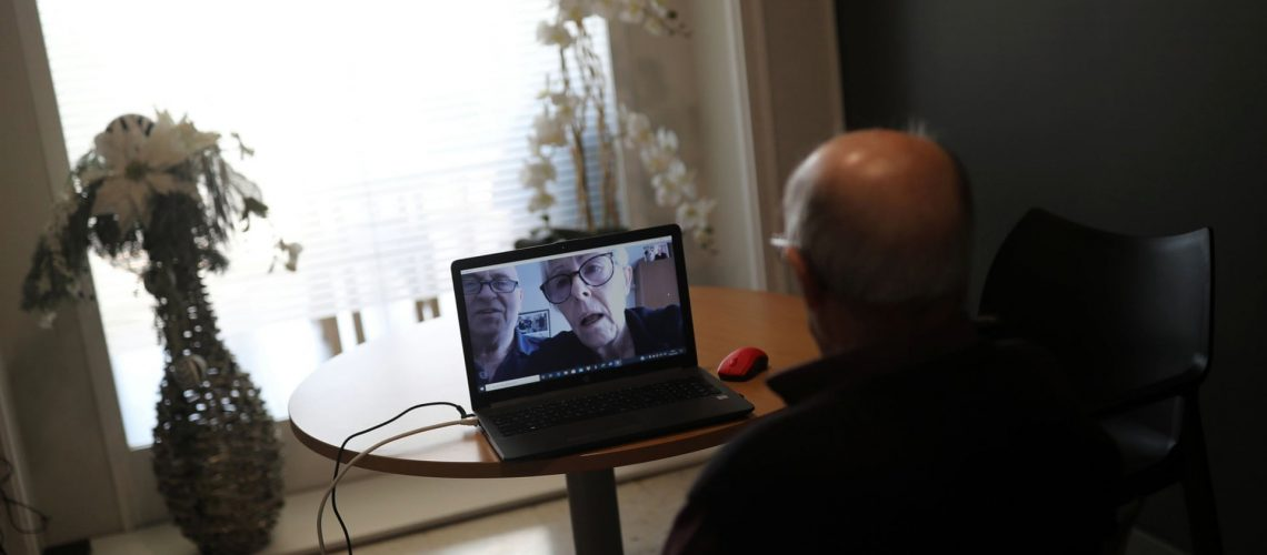 During COVID-19 older adults are getting online to connect using Zoom and taking classes